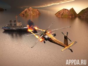 World War Gunship Battle 3D