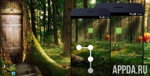 AppLock Theme - Deep Forest