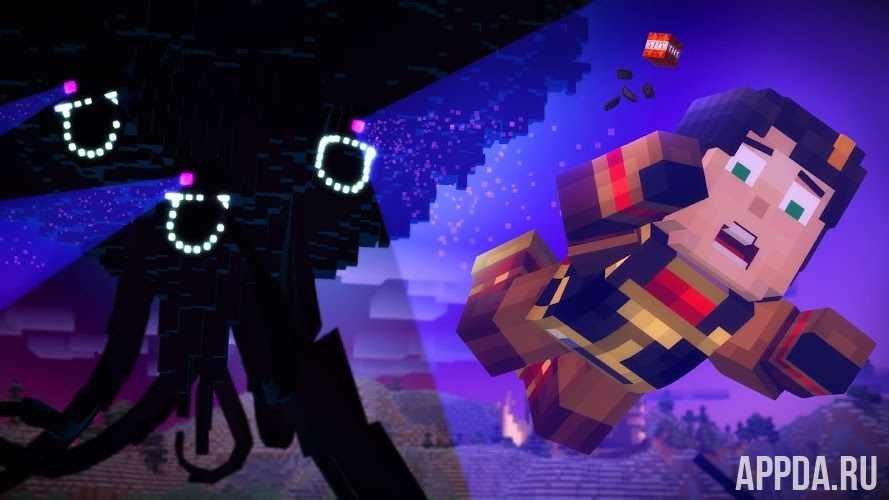 Minecraft: Story Mode v 1.26 [ВЗЛОМ] для Андроид