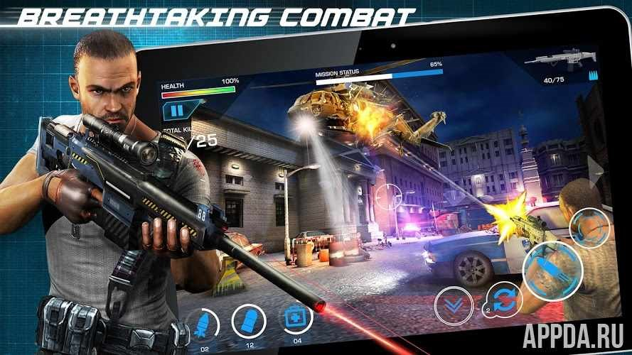 Border Wars: Sniper Assault v 1.0.15 [ВЗЛОМ] для Андроид