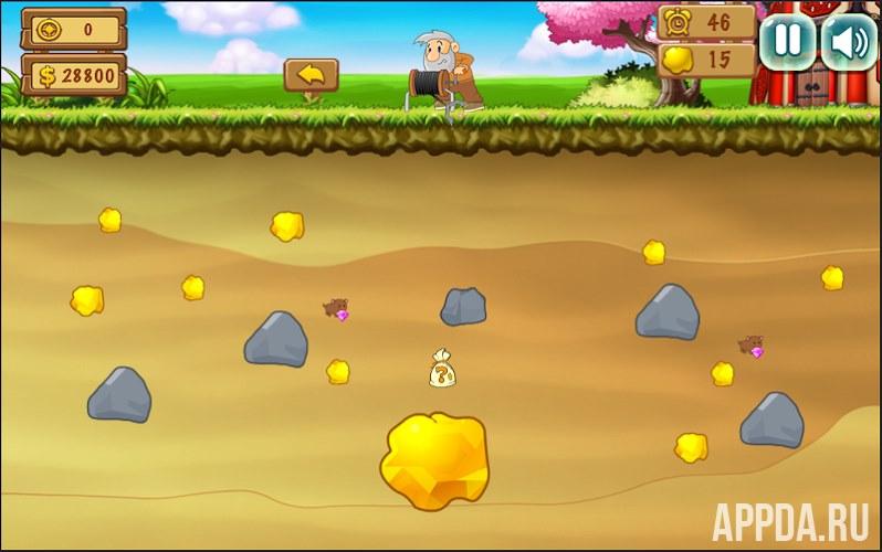Золотоискатель для Android