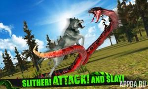 Angry Anaconda Attack 3D v1.4 [ВЗЛОМ: Много денег]