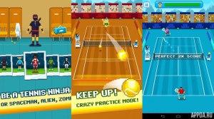 One Tap Tennis v 1.10.00 [ВЗЛОМ]