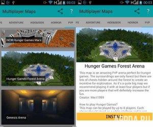 Multiplayer Maps for Minecraft v 1.0