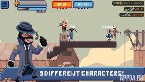 Gangfort - online 2D shooter v 2.0