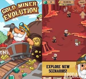 Gold Miner Evolution [ВЗЛОМ: много денег] v 1.5
