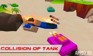 Blocky Tanks Force [ВЗЛОМ много денег] v 1.3