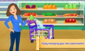 Supermarket Cash Register Sim [ВЗЛОМ: много денег] v 1.21