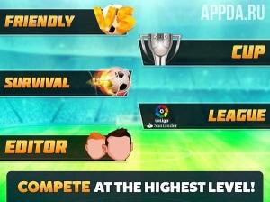 Head Soccer La Liga 2017 [ВЗЛОМ: много денег] v 2.3.3