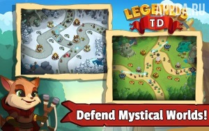 Legends TD - None Shall Pass! [ВЗЛОМ: много денег] v 1.0.1