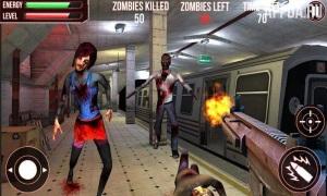 Subway Zombie Attack 3D [ВЗЛОМ на деньги] v 1.2