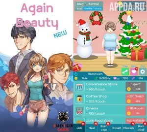 NEW Again Beauty - Clicker [ВЗЛОМ на деньги] v 1.31