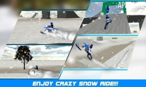 Extreme Snow Mobile Stunt Bike  [ВЗЛОМ Много денег] v 1.0.2