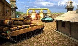 Crime City : Tank Attack 3D [ВЗЛОМ на деньги] v 1.0