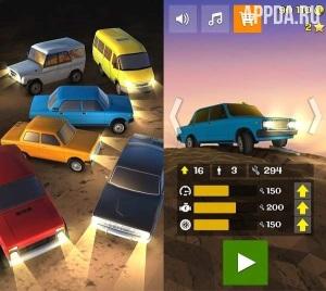 Игровой процесс Злой Муду - Hill Climbing Taxi
