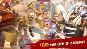 Игровой процесс Gladiator Heroes