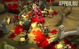 Игровой процесс Minigore 2: Zombies