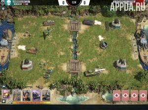 Игровой процесс Battle Islands: Commanders