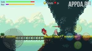 Игровой процесс Battle Of Super Saiyan Heroes