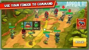Игровой процесс The Troopers: minions in arms