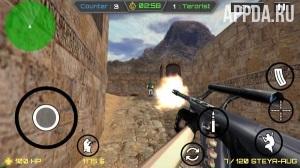 Игровой процесс Terrorist Strike:War PRO
