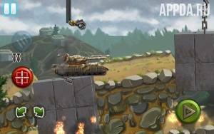 Игровой процесс Tank Race: WW2 Shooting Game