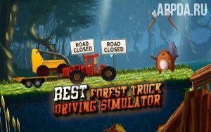Forest Truck Simulator: Offroad & Log Truck Games [ВЗЛОМ: Много денег] v 3.1