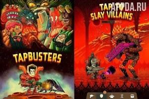 Tap Busters: Galaxy Heroes [ВЗЛОМ: режим бога] v 1.6.5