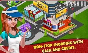 Shopping Mall Cashier Girl
