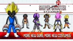 Sniper Shooter Stickman 2 Fury: Gun Shooting Games