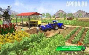 Farm Sim 2018: Современный мастер-симулятор 3D
