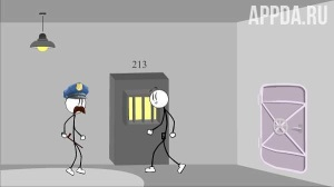 Стикмен побег из тюрьмы 6 v 1.4