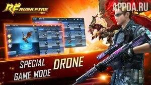 Rush Fire - World Class FPS Mobile Game [ВЗЛОМ: режим бога] v 2.0