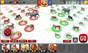 Animal Kingdom Battle Simulator 3D [ВЗЛОМ: драгоценные камни] v 2.2