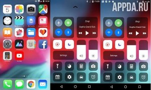 iOS 12 Launcher 6.0